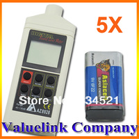5pcs/Lot Digital Accurate Sound pressure Level db Decibel Meter Tester Wholesale Dropship Free Shipping TD0004