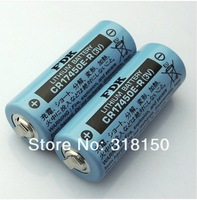 2pcs Genuine FDK Sanyo CR17450E-R 3V Lithium Cylindrical Laser Battery With tab made in japan free shipping