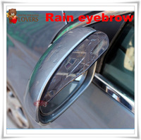 hot selling 2pc/lot Mirror Rainproof Blade Vehicle/Car Rain Eyebrow Rear View Mirror  Waterproof free shipping