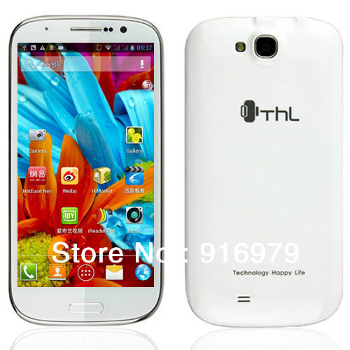 2013 NEW&amp; Gifts THL W8 16G ROM MTK6589 Quad Core Mobile Phone 5inch FHD Screen 1280*720 Android 4.1 8.0MP cell phone(China (Mainland))
