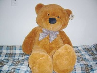 "FULL SIZE 63""/1.6 meter teddy bear SKIN 3 colors BIGGER THAN OTHER STORES plush toy stuffed toy"