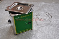 Ultrasonic cleaner for cleaning vehicle parts