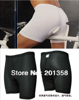 2013 New Cycling Underwear 3D Padded Bike/Bicycle Base/Shorts/Pants/White and Black SIZE S-3XL