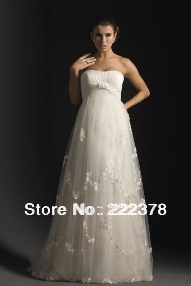 2013 Wedding Dress Wedding Bride gravida Dress Gown all Size/color Free Shipping superfine-547(China (Mainland))