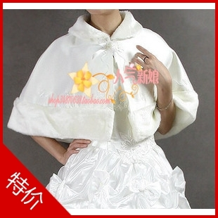 Free Shipping Beautiful bride cape marriage wedding wrap cape pj730(China (Mainland))