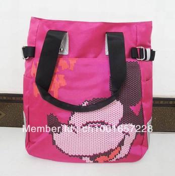 2013 hot sale Mickey mouse designer bag ladies handbag shoulder bag leisure bag beach bag free shipping