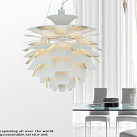 Modern brief lamp living room lights bedroom lamp restaurant lamp pinecone pendant light fashion project light