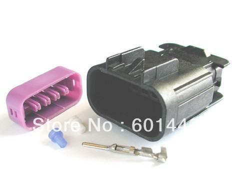 Plastic / Automotive Electrical Connector /10-pin plug/ connector / terminal/DJK7101E-1.5-10(China (Mainland))