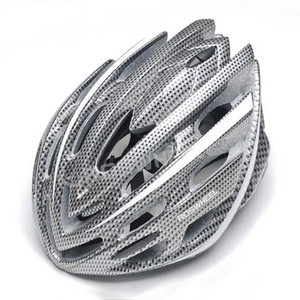 2013 NEW Cycling BMX BICYCLE HERO BIKE Carbon fiber color Helmet With 22 holes(China (Mainland))