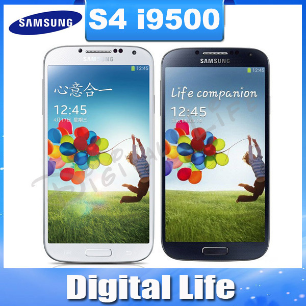 Original Samsung Galaxy S IIII SIIII S4 i9500 Quad-core 3G&4G 13MP GPS WIFI 16G Mobile Phone(China (Mainland))