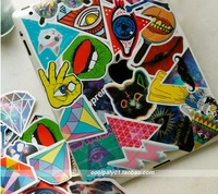 25pcs/lot Randomly Delivery hot popular patterns mini HARAJUKU stickers for luggage phone laptop guitar box skateboard refridge