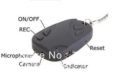 Free shipping Hot selling Mini video 1G 2G 4G 8G 16G hidden car key camera car key chain camera DV 808(China (Mainland))