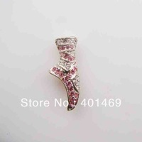 Free shipping metal crystals charm fashion buckle accessories