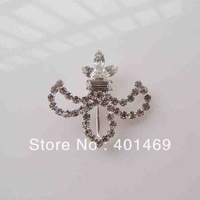 Free shipping silver rhinestone hot season buckle accessories