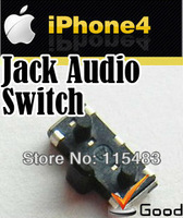 jack audio switch welding on the main board LOGIC BOARD FPC CONNECTOR cell phone Custom parts supplier   for iphone 4