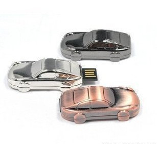 16gb usb flash drive metal stainless steel automobile race small car usb flash drive gift usb flash drive usb flash drive(China (Mainland))