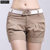 Free Shipping** 2013 summer casual shorts female all-match plus size candy color shorts