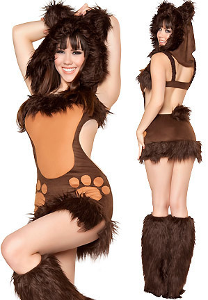 Sexy Tiger Cat Feline Women's Adult Halloween Costume(China (Mainland))