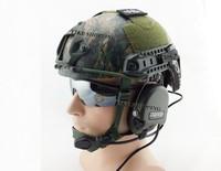 Tactical Ballistic Helmet Woodland camouflage