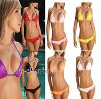 100PCS New Fashion SH-02 Sexy Bikini and Swimwear Summer Swimsuit Charm colorful 9 colors