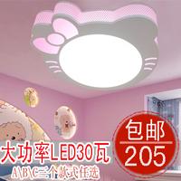 Ketty cat child real ceiling light lighting cartoon child lamp