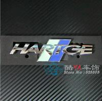 "Free Shipping ""HARTGE"" Full Metal Front Grill Label Car Labels Car Emblems"