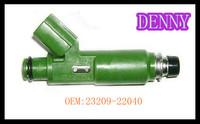 Toyota corolla del inyector de combustible oem# 23209-22040 23250-22040clio green giant