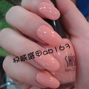 6 bottle nail art shisem nail polish oil 15ml japanese style tender pink 109 nail polish oil(China (Mainland))