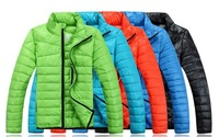 6Color Men's Down cotton Outdoor Coat Hooded Winter Warm Parka Jacket 199