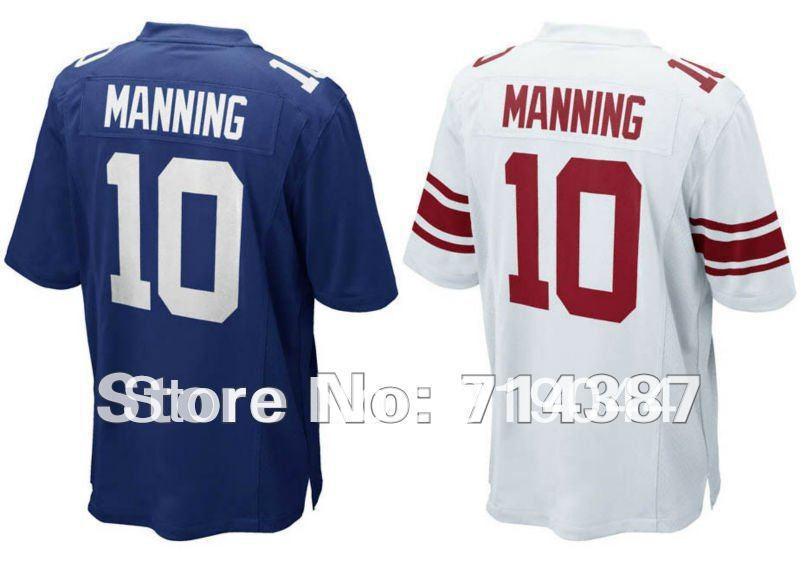 Hot sell !Retail,EMS Free Shipping,12/13 New York #10 Eli Manning American football Jerseys ,Size 40-56,(Can Mix jerseys)(China (Mainland))