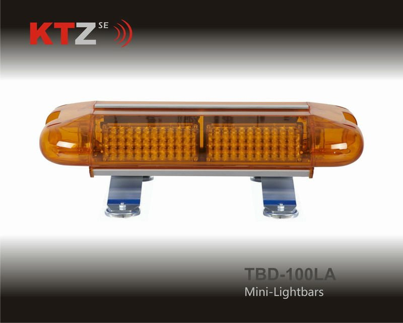 police car amber color LED flashing warning lightbar (TBD-100LA)(China (Mainland))