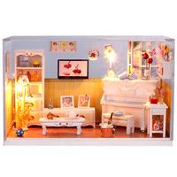 diy model handmade birthday gift romantic diy toy wooden dollhouse