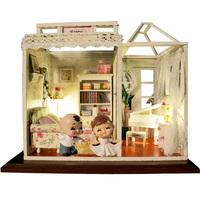Diy model assembling toys gift female diy dollhouse