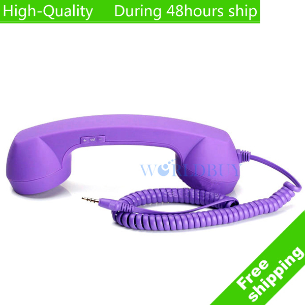 High Quality Retro Telephone Handset Classic Cell Phone Receiver for Nokia Lumia 520 720 620 900 920 Free Shipping DHL HKPAM(China (Mainland))
