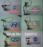 Hot Sale EL led car logo decorative light  car badge LED lamp Auto emblem led light Free shipping