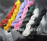 Free Shipping 260m x1.0 mm Premium Quality Shamballa Braided Nylon Cord Thread pick color