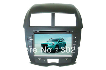 "free shipping 8"" Mitsubishi ASX  car GPS DVD player  with canbus bluetooth and ATV ,IPOD"