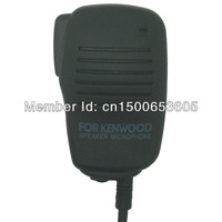 Wholesale Heavy Duty Kevlar Speaker Handheld PTT Microphone For Kenwood 2 PIN Radio Baofeng UV-5R UV5R Wouxun brand transceiver