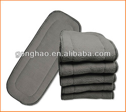 Free Shipping Bamboo Charcoal Liner Inserts For Baby Diaper 1150pcs Manufacturer(China (Mainland))