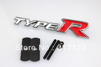 Free shipping (20pieces/lot) TYPER Metal Emblem/Badge/Logo Alloy Car Logo Grill Badge for car decoration car tuning for Toyota