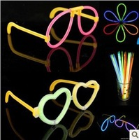 10pcs/lot wholesale Christmas accessories of glasses/Glow Stick glasses,Cheering Light Stick glasses For Party,Free Shipping