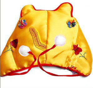 Hand embroidery baby tiger hat(China (Mainland))