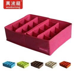 Bamboo charcoal magic underwear storage box bra storage box panties socks storage box 16(China (Mainland))