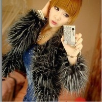 Fur coat fur outerwear fur coat medium-long fur female