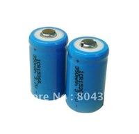 FREE DHL/FEDEX+3000pcs CR2 3.7V  Li-ion 15266 Battery 350mAh 3.7V Rechargable battery