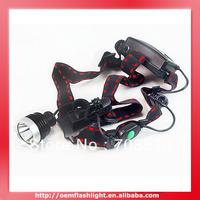 CLAIRVOYANCE Cree XM-L T6 3-Mode Headlamp (2 x 18650)
