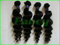 "3pcs/lot 12~28"" Fashion 5A quality 100% human hair extension Brazilian curly virgin hair,unprocessed hair Weave DHL/Fedex free"