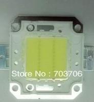 Free Shipping 10pcs High power 20W 1600-1800LM 32-34V White led lamp TAIWAN chip