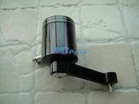 Universal Motorcycle CNC Clutch Brake Oil Fluid Reservoir For Yamaha Honda Kawasaki Suzuki Ducati Black   Free shipping