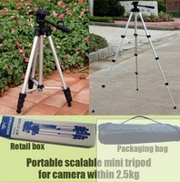 2013 Brand New Stand Hold Mini  Universal Flexible Portable light stand video Camera professional Tripod cameras stabilizer